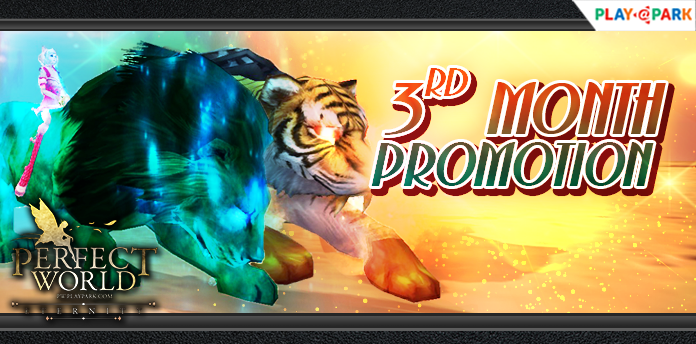 [Perfect World Online] : 3rd Month Promotion 15-31 ตุลาคม 63